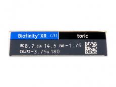 Biofinity XR Toric (3 lentes)